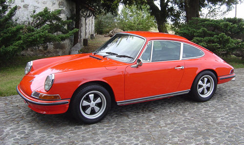 Porsche 911 Colour Color Guide