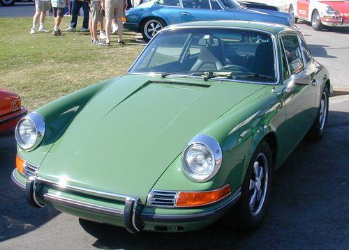 Porsche 911 Colour Color Codes 1971 1972 And 1973