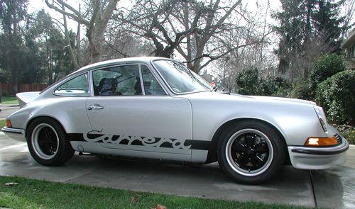 Porsche 911 Colour / Color codes 1971, 1972 and 1973