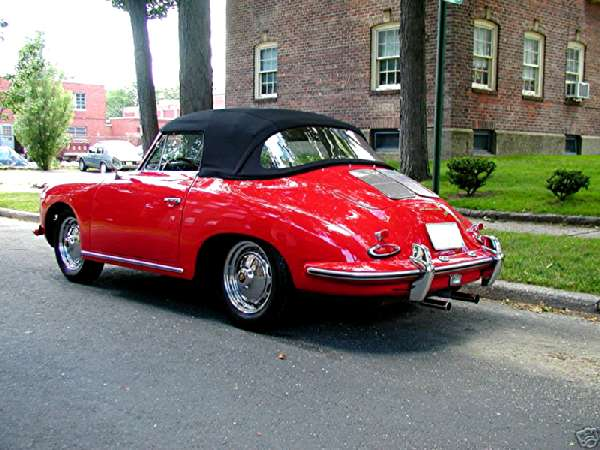 Porsche 356 Cabriolet Super 90 1963 LHD (Belgium) for sale