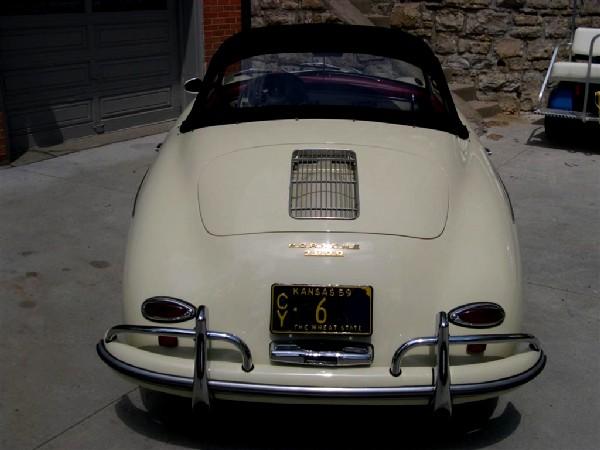Porsche 356 convertible d for sale