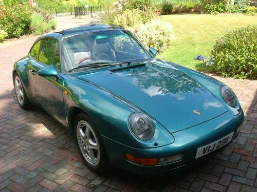 Porsche 993 Targa 1996 Rhd For Sale