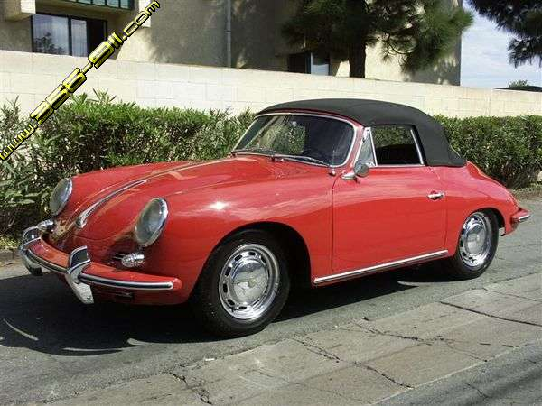 Porsche 356 C cabriolet. Outstanding condition, totally rustfree and